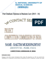 CCI - Competition Commission of India