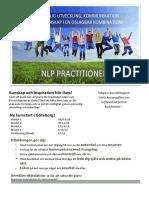 NLP Practitioner hösten 2016 i Göteborg