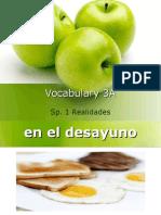 vocabulary 3a