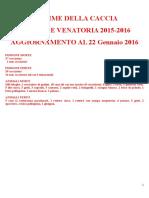 vittime caccia 2015-16 22.01.16