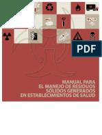 Manual Residuos Solidos Salud 2003