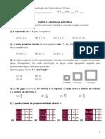 Sequencias e Regularidades Porp Directa e Escalas