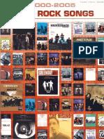 Various Artists - 2000-2005 Best Rock Songs.pdf