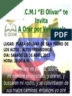 Afiche Clamor San Pedro