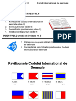 PM_Unit 6. Codul International de Semnale