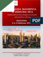 Programma risonanza magnetica in medicina