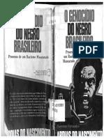 Genocidio Do Negro Brasileiro Processo de Um Racismo Mascarado