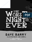The Worst Night Ever excerpt