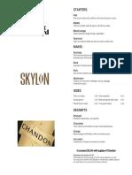 ES Menu Skylon 14-01-16