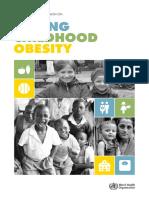 Raport OMS - Obezitate infantilă