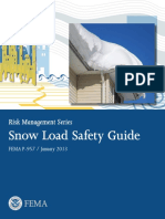 FEMA Snow Load Safety Guide