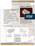 Actox 60W Ku-band BUC/SSPA Data Sheet ABCN60KX
