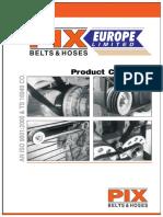 PIX Belts Product Catalogue