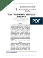 Etica y psicoanalisis - Concepto humanista