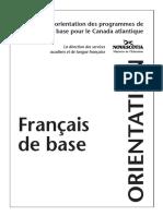 Francais de Base