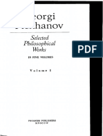 Plekhanov, Selected Philosophical Works, Vol. I (OCRed)