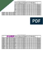 CURP Practicas en Excel