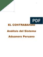 ENSAYO DEL CONTRABANDO Y ANALISIS DEL SISTEMA ADUANERO EN EL PERÚ