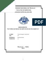 Monografia Factores de Riesgo de Amputacion en Pie Diabetico