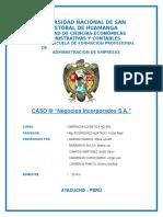 CASO IV Negocios Incorporados