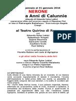 cs Nerone teatro Quirino con incontro con Massimo Fini.doc