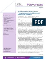 Price Transparency Policy Analysis FINAL 5-2-14