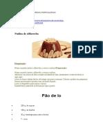 Receitas de Sobremesas Portuguesas