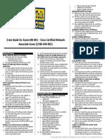 CCNA Cram Sheet