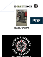 S&D Firefighter Forcible Entry Door Prop Plans