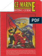 Games Workshop - Space Marines - Painting Guide - 1st Ed