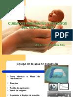 Intervenciones de Enfermeria Para El Cuidado Del Recien Nacido