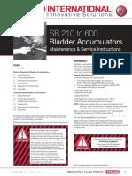Bladder Maintenance Manual