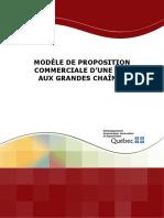Modele Proposition