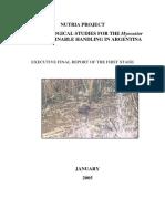 Basic Ecological Studies for the Myocastor Coypus Sustainable Handling in Argentina