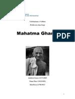 "Relatório ""Mahatma Ghandi"""