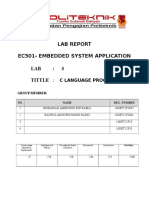 Embedded Lab 3 Report