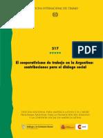El Cooperativismo de Trabajo en La Argentina