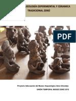 Taller arqueologia experimental y cerámica tradicional Zenú