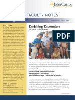 John Carroll University Faculty Notes