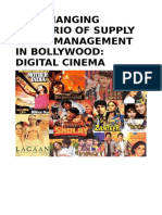 Supply chain in bollywood