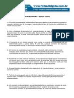 Folha Dirigida - Questões de Microeconomia(Www.concurseirosdobrasil.net)