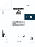 Meteorology and Atomic Energy -- U.S. Atomic Energy Commission