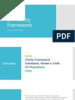 EF – Entity Framework - Conceitos