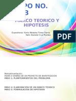 Marco Teorico y Hipotesesis