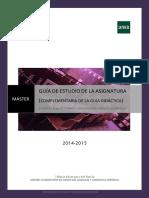 Guía de Estudio (Parte 2) 2014-2015