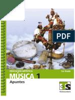 Ed. artística.Música. 1er grado (Telesecundaria) México