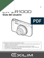 EXZR1000 manual