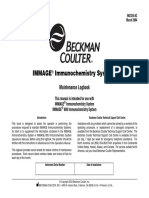 Beckman Coulter Immage - Maintenance Logbook