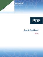 Cloudmark 2015 Q1 Security Threat Report