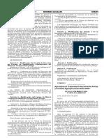 RESOLUCION MINISTERIAL N° 0018-2016-MINAGRI